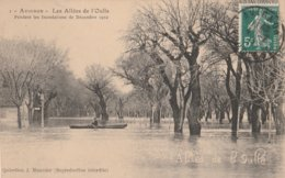 CPA 84  AVIGNON INONDATIONS ALLEES DE L'OULLE 1910 - Avignon