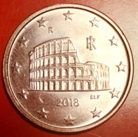 ITALIA - 2018 - Moneta - Anfiteatro Flavio (Colosseo) - Euro - 0.05 - Italy