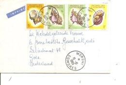 Comores - Coquillages ( Lettre !mprimée De 1965 De Moroni Vers Les Pays-Bas à Voir) - Isole Comore (1950-1975)
