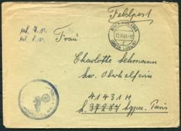 1943 DR Germany X 4 Biala Poolaska Lublin Poland Feldpost Covers - Germany