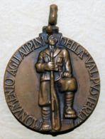 BRUNICO 1932- MONUMENTO AGLI ALPINI DELLA VALPUSTERIA- E.F. XVI  III° IMP- - Altri