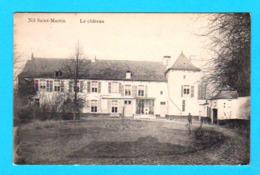 CPA WALHAIN ( NIL SAINT MARTIN ) : Le Château - Petite Anim. Circ. En 1915 (Belgien) Edit. Laflotte - 2 Scans - Walhain