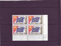 SERVICE N° 49 - 1F CONSEIL DE L'EUROPE - 6.08.1976 - - Mint/Hinged