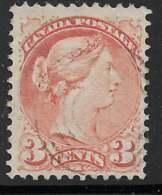 Michel 28cA - 3 C Vermillon Dentelé 12 - O - Used Stamps