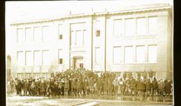 CANADA SHAUNAVON  EN 1922    PHOTO CARTE ECOLE - Altri