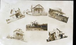 CANADA SHAUNAVON  EN 1922    PHOTO CARTE CONSTRUTION GULL LAKE SASK - Altri