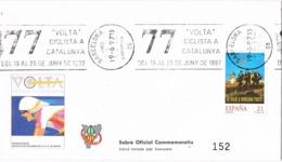 34434. Carta BARCELONA 1997. 77 Volta Ciclista. Ciclismo. Rodillo Especial - 1931-Hoy: 2ª República - ... Juan Carlos I