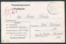 1941 Germany Kriegsgefangenenpost Polish POW Censor Postcard. Oflag II E / K Neubrandenburg - Bad Darkau / Karviná - Germany