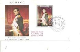 Napoléon ( FDC De Monaco De 1969 à Voir) - Napoleon