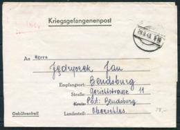 1943 Germany Kriegsgefangenenpost Polish POW Censor Oflag II C Dobiegniew / Woldenberg - Germany