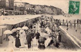 4255 Cpa Dieppe - La Terrasse Du Casino - Francia