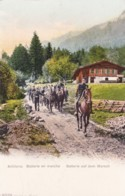 AO34 Military - An Artillery Battalion On The Move - Regiments