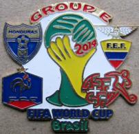 Pin FIFA 2014 Group E France Honduras Switzerland Ecuador - Fussball