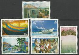 ANGUILLA 2004  ARTS FESTIVAL,PAINTINGS SET MNH - Anguilla (1968-...)