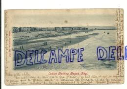 Ladies Bathing Beach. Rhyl. 1909 - Wales