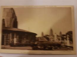CPA PARIS EXPOSITION COLONIALE 1931 PAVILLON AEF FACADE LATERALE - Esposizioni