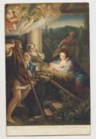 AJ26 Religious Art - Die Heilige Nacht By Antonio Allegri - Paintings, Stained Glasses & Statues