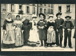 CPA - Fêtes Celtiques De BREST 1908 - Concours De Costumes - Quelques Concurrents - Brest