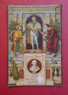 Grand Format  CALENDRIER SHAKSPERE 1886. Shakespeare.  Support  Ephéméride.  Marcus Ward.   24,5 X 16,3 Cm - Non Classificati