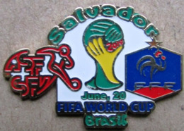 Pin FIFA 2014 Group E Switzerland Vs France - Fútbol