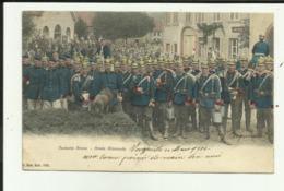 57 - Moselle - Vergaville - Armée Allemande - Militaria - Beau Plan De Militaires - Couleurs - - France