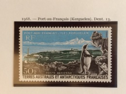 TAAF YT 14 Poste Aérienne Port-aux-Français Neuf - Luchtpost