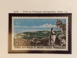TAAF YT 14 Poste Aérienne Port-aux-Français Neuf - Corréo Aéreo