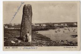 Porspoder - Melon - Le Menhir De L'Ile - France