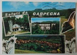 CARPEGNA (Pesaro)  - Saluti Da Carpegna, Stazione Climatica - Vedutine - Vg - Pesaro