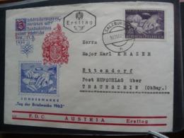 (1)  Austria - Autriche - Oostenrijk FDC 1962 TAG DER BRIEFMARKE SEE SCAN - FDC
