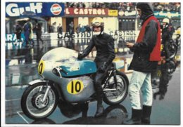 Monza - Gran Premio Delle Nazioni 1968 - Moto Seeley-Matchless. - Motociclismo