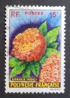 1962 Flowers, Polynesie, France, Republique Française, *,**, Or Used - Französisch-Polynesien