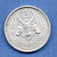 Madagascar  -  1 Franc 1948  -  état  TTB+ - Madagascar