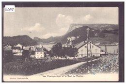 DISTRICT DE LA VALLEE - LES CHARBONNIERES - B ( PLI D'ANGLE ) - VD Vaud
