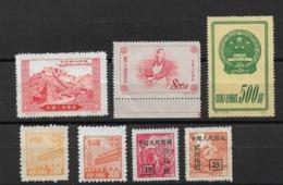 China / Chine  Lot  Stamp   Unused - China