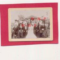 Photo Ancienne  08 Août 1899 - PAUCOURT  (Loiret) - Mariage CHEVEREAU GOUGON - Liste Des Invités Au Verso - Otros Municipios