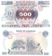 Uganda  P-25  50 Shillings   1986  UNC - Oeganda
