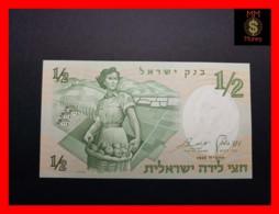 ISRAEL ½  Lira 1958  P. 29  UNC - Israel
