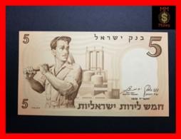 ISRAEL 5  Lirot  1958  P. 31  UNC - Israel