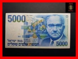 ISRAEL 5.000 5000 Sheqalim 1984  P. 50  VF+ \ XF - Israel