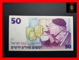 ISRAEL 50  New Sheqalim 1988  P. 55 B  VF+ - Israël
