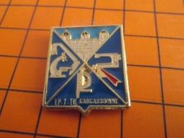 1419 Pin's Pins : BEAU ET RARE : Thème ADMINISTRATIONS / LYCEE PROFESSIONNEL CARCASSONNE - Levensmiddelen