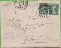 Lettre Soldat-Infirmier  à Sa Femme De Margerie-Hancourt (51) à Vesoul 8/09/14 Décrivant La Guerre, L'attente... - 1914-18