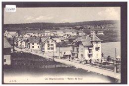 DISTRICT DE LA VALLEE - LES CHARBONNIERES - TB - VD Vaud