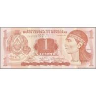 TWN - HONDURAS 89a - 1 Lempira 17.4.2008 Prefix EB - Printer: OBERTHUR TECHNOLOGIES UNC - Honduras