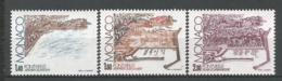 MONACO ANNEE 1982 N°1324 A 1326 NEUFS** NMH - Ongebruikt