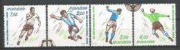 MONACO ANNEE 1982 N°1312 A 1315 NEUFS** NMH - Unused Stamps