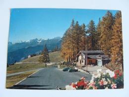 Cartolina Colle Di Joux ( St. Vincent ) - Bar Ristorante Stella Alpina   NON VIAGGIATA - Hotels & Restaurants