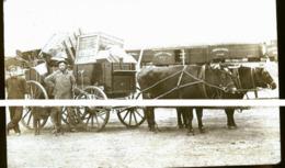 CANADA SHAUNAVON  EN 1922  PHOTO CARTE LA GARE ET ATTELAGE  ///// TRAIT ANTI COPIE - Altri