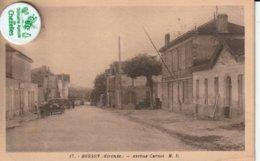 33 - Carte Postale Ancienne De   BERSON  Avenue Carnot - Francia